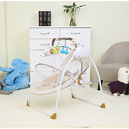 Stupendous Amazon Com Aibab Chair Bouncers Baby Electric Smart Cradle Squirreltailoven Fun Painted Chair Ideas Images Squirreltailovenorg