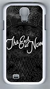 The End Is Now Mayan PC Hard Case Cover For Samsung Galaxy S4 SIV I9500 Case and Cover White