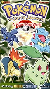 pokemon the johto journeys a brand new world vol 39 vhs veronica taylor. Black Bedroom Furniture Sets. Home Design Ideas