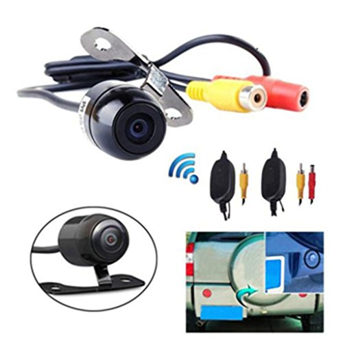 Dacawin 170° 2.4G Wireless Car Rear view Waterproof Reversing Camera (Black) by Dacawin (Image #9)