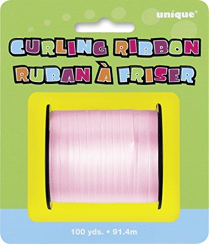 Pastel Pink Curling Ribbon 100