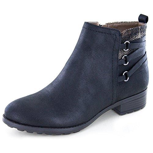 Boot Mountain Womens Ankle - WHITE MOUNTAIN 'Ramone' Women's Bootie, Black - 7.5 M