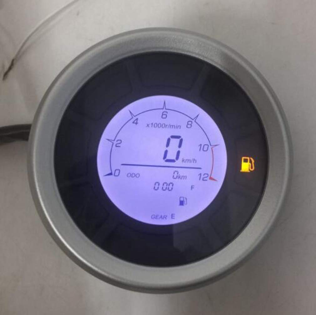 contachilometri Universale per Moto Digitale da 95mm Huashao Tachimetro Moto Veloce PRO