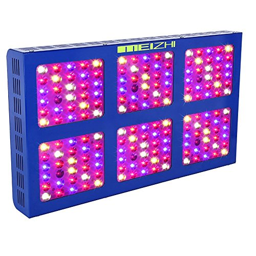 MEIZHI LED Grow Light 900W Full Spectrum for Indoor Plants Veg and Flower – Dual Growth/Bloom Switches For Sale