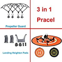 XSD MODEL DJI Protective Landing Pad+Propeller Guard+Landing Heighten DJI MAVIC PRO