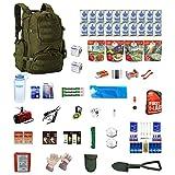 Urban Survival Kit Deluxe For Earthquakes, Hurricanes, Floods, Tornados, Emergency Preparedness
