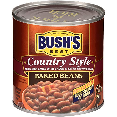 Bush's Best Country style Baked Beans, 16 oz (12 cans)