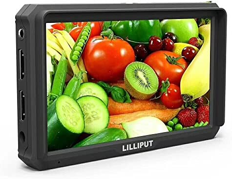 LILLIPUT A5 5 Inch Camera-Top Broadcast Monitor for 4K HDMI/Full HD Camcorder & DSLR1920x1080 Native Resolution Application for Taking Photos & Making Movies by LILLIPUT OFFICIAL SELLER VIVITEQ