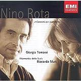 Rota: 2 Concertos per pianoforte / Tomassi,