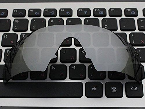 rechange de Année de Titanium de Acompatible M Polarized Verres 1999 lunettes Oakley monture Mirror hybride soleil Pour SwqKFEC