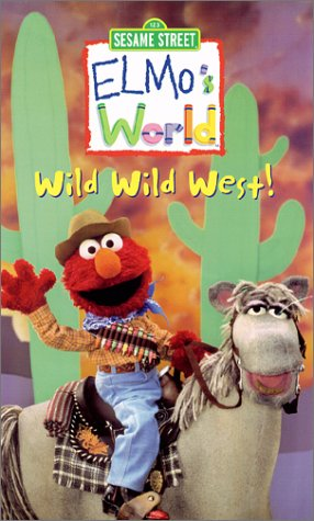 Elmo's World - Wild Wild West [VHS]