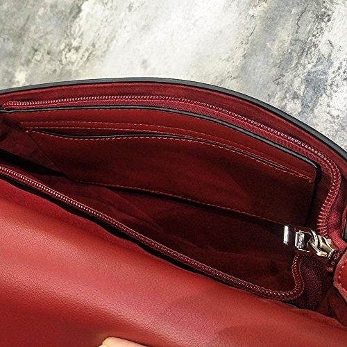 Aoligei L'Europe et les États-Unis vent accessoires perles deux côtés avec épaule de Baotan petit côté sucré chaîne main Messenger Sac A