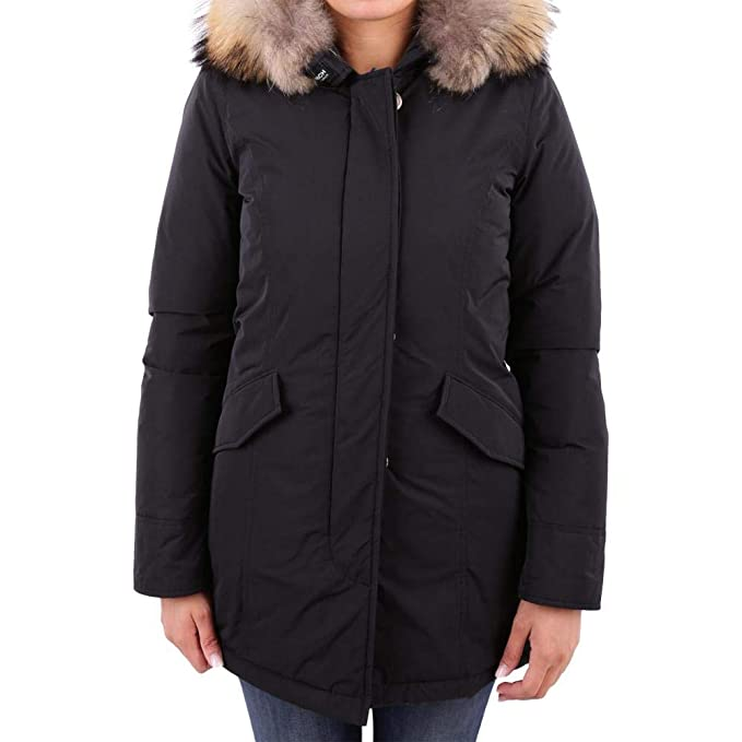 foto ufficiali ee224 df377 Woolrich Luxury Artic Parka CF40 Black