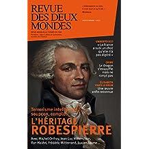 Revue des Deux Mondes novembre 2015: L'héritage Robespierre