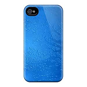 For Iphone Case, High Quality Frosty Blue For Iphone 4/4s Cover Cases