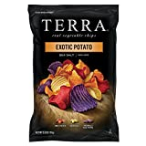 TERRA Vegetable Chips, Exotic Potato with Sea Salt, 5.5 Ounce (Pack of 12)