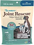 Ark Naturals Sea Mobility Joint Rescue Chews For All Dogs, Lamb, Increase Felixibility, Mobility, and Joint Comfort, Wheat and Corn Free, No Hormones, 500 mg Glucosamine, 9 oz. Bag