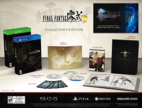 Final Fantasy Type-0 HD Collector's Edition - PlayStation 4
