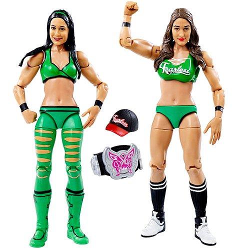 WWE Wrestling Series 38 Nikki & Brie Bella Twins 6'' Action Figure 2-Pack by Wrestling