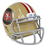 San Francisco 49ers Bank Coin Helmet Style - Licensed San Francisco 49ers Collectibles