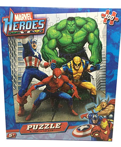 Marvel Heroes Puzzle - 100 Pieces - 10