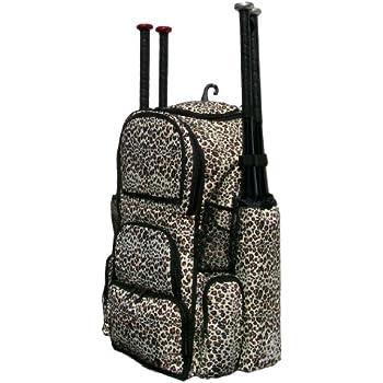 Cheetah Print Camouflage Chita II (L) Adult Softball Baseball Bat Equipment  Backpack 4a80d01ecac7f