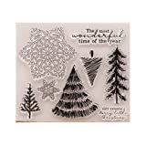 HotelLee Clear Stamps for Card Making Decoration and Scrapbooking