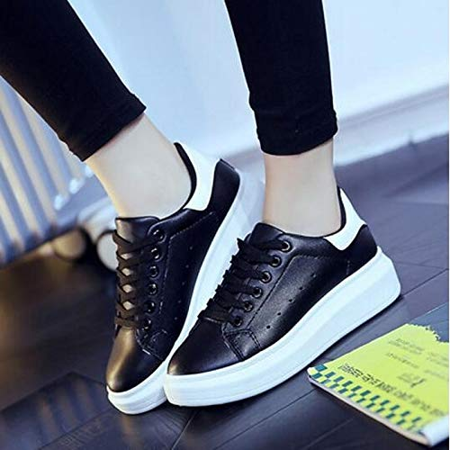 Women's Heel Fall ZHZNVX White Red Sneakers PU Microfiber Red Black Green Comfort Shoes Flat Synthetic Spring White qTCdnvCB