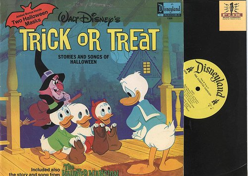 Trick or Treat Stories and Songs of Halloween-disney ()