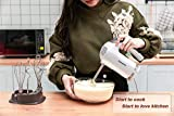 DmofwHi 5 Speed Hand Mixer Electric, 300W Ultra