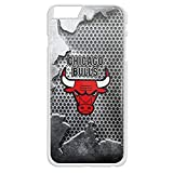 chicago bull cool logo For iPhone and samsung galaxy case (iPhone 6 Plus White)