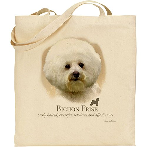 Howard Robinson Bichon borsa in cotone naturale frisé