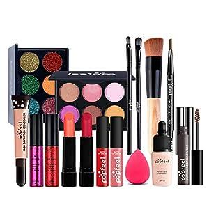 CHSEEO Paleta de Maquillaje Set Paleta de Sombras de Ojos, Juego de Maquillaje Kit de Maquillaje para Mujeres y Niñas… | DeHippies.com