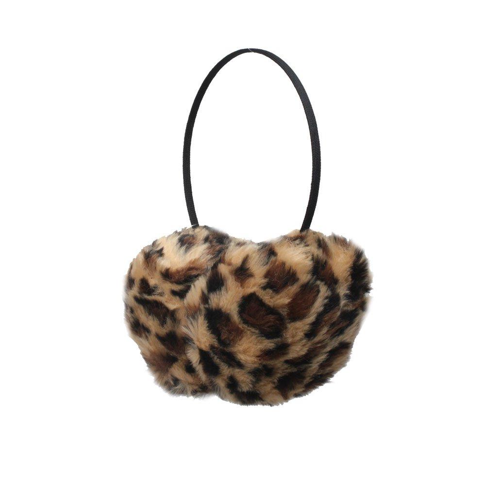Animal Spot Furry Winter Thermal Fashion Earmuffs