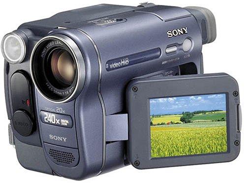 ソニー SONY CCD-TRV116 ハイエイトビデオカメラレコーダー   B0001C5UIO