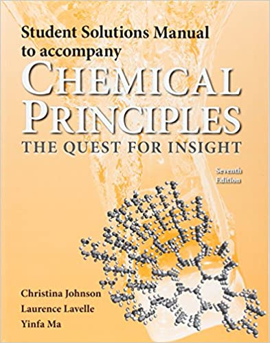 Student solutions manual for chemical principles carl hoeger student solutions manual for chemical principles seventh edition fandeluxe Gallery
