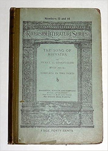 the song of hiawatha poem summary