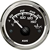 KUS Automotive Replacement Water & Oil Temperature Gauges