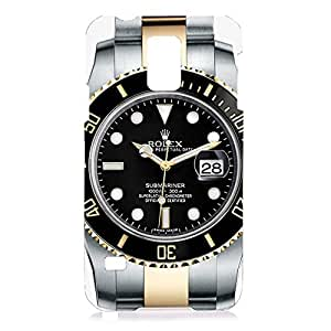 Best Design Artistic style Rolex watch pattern customized 3d hard plastic case rel07 for Samsung Galaxy S5