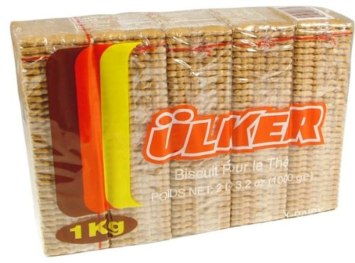 (Ulker Tea Biscuits, 2.2lb (1000g) (2.2 lbs))