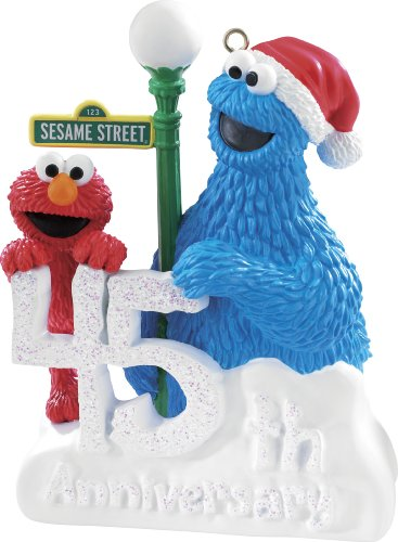 Elmo And Cookie Monster 2014 Carlton Heirloom Ornament