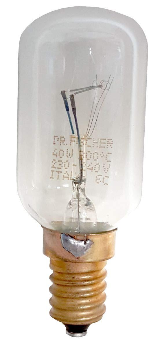 Philips original bombilla para horno (largo cristal T29 300 °C 40 ...