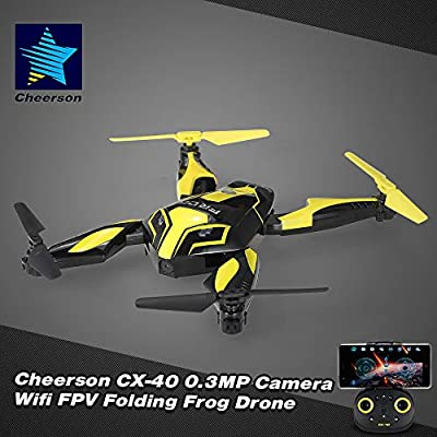 Mobiliarbus Cheerson RC Drone CX-40 0.3MP Cámara WiFi FPV Plegable ...