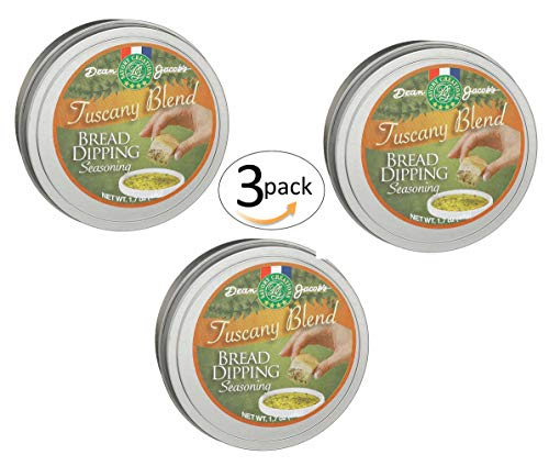 - Tuscany Bread Dipping Seasoning Tin 1.7 oz 3 pack