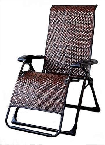 Yuany Silla reclinable para Exteriores, sillas reclinables para Exterior, Muebles de jardín, sillas reclinables para jardín, reclinable Plegable de Gravedad Cero