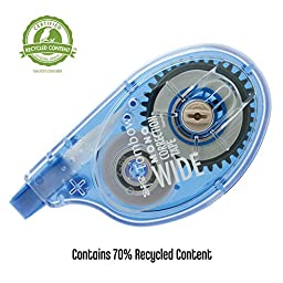 Tombow MONO Wide Correction Tape 2-Pack (68682)