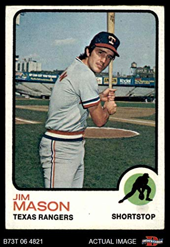 1973 Topps # 458 Jim Mason Texas Rangers (Baseball Card) Dean's Cards 2 - GOOD Rangers
