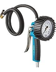 Hazet 9041G-1 Bandenvulmeter (gekalibreerd, grote manometer: 80 mm diameter, meetbereik: 0 tot 10 bar)