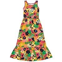 Vestido Marisol Play Floral Menina Laranja