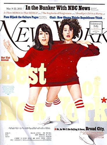 New York Magazine, March 9-22, 2015